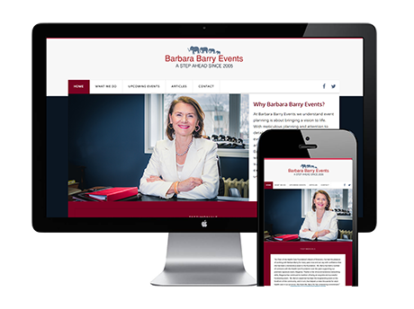 Barbara Barry Events Website