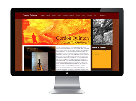 gordon quinton website