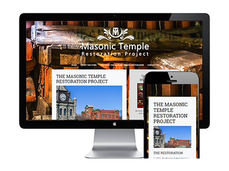 masonic temple restoration website