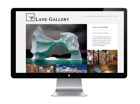 Lane Gallery Website
